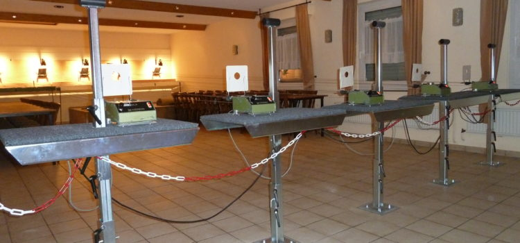 Die Schützengilde Feldkirchen hat den Gewehrstand renoviert!